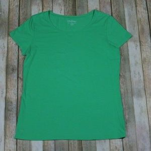 Lilly Pulitzer Karrie Crew Neck T-Shirt Top S/S